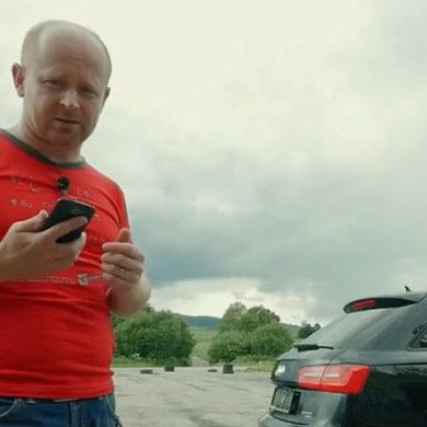 Test lokalizátora GPS Sniper